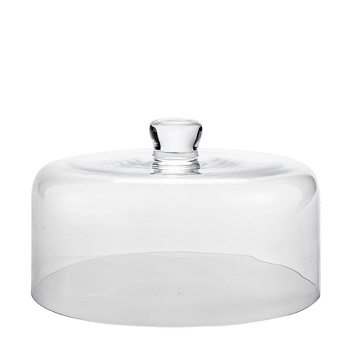 Glass dome d27 h17 cm
