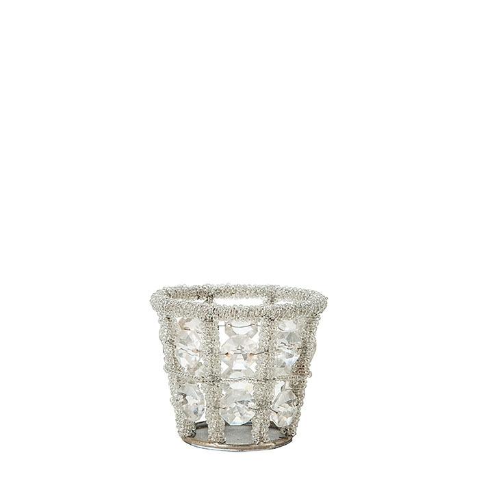 Small glass diamond model d5 h6.5 cm