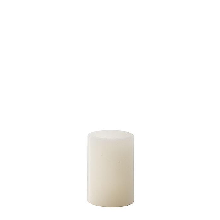Bougie blanche led (piles pas incluses) d5 h7 cm