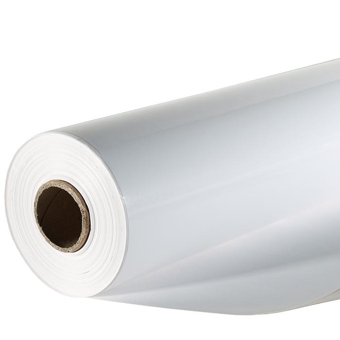 White glossy paper roll 50m x 70cm