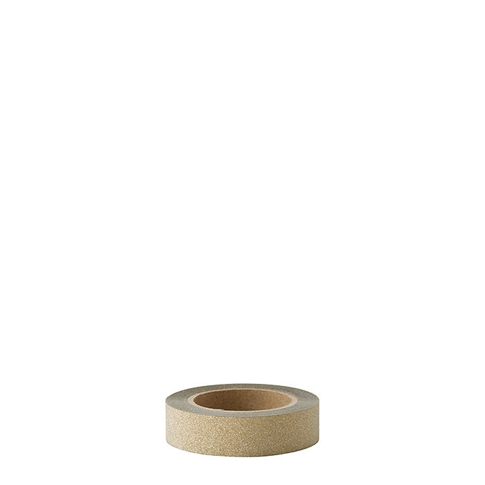 Gold scotch tape 10m x 1.5 cm