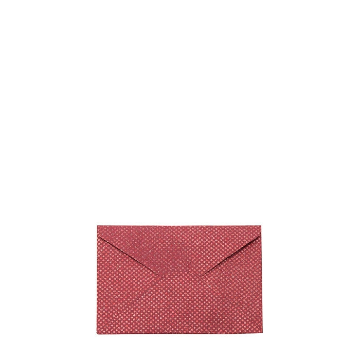Glitter paper envelope red color 20 x 14.5 cm