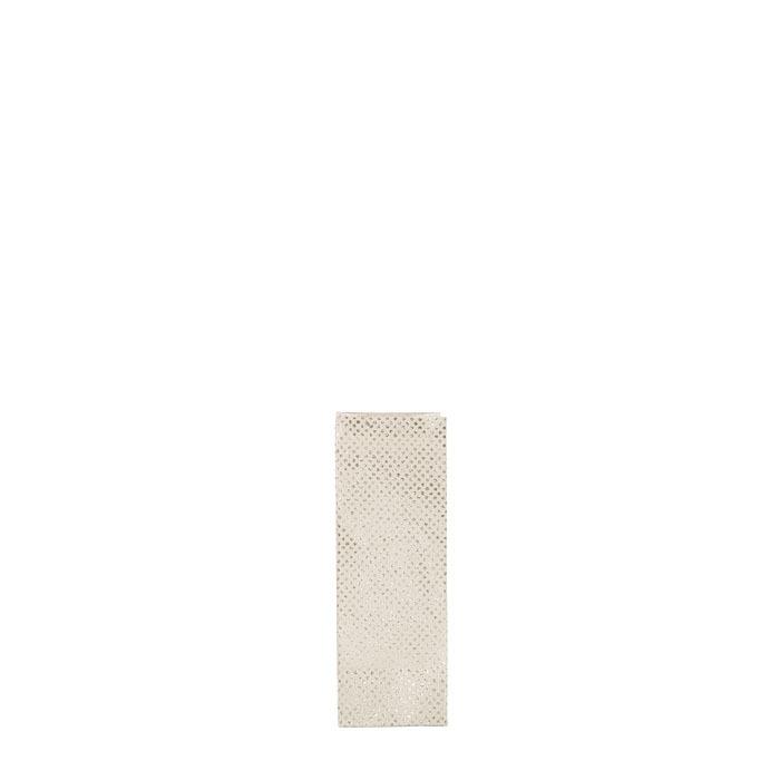 Sacco pois glitter di carta colore oro 7 x 7 h20 cm
