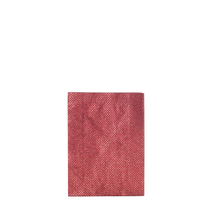 Glitter paper bag red color 7 x 18 h25 cm