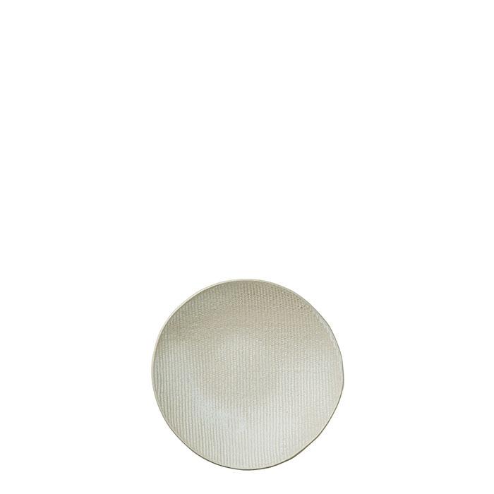 Piatto fondo in gres texture d20 cm