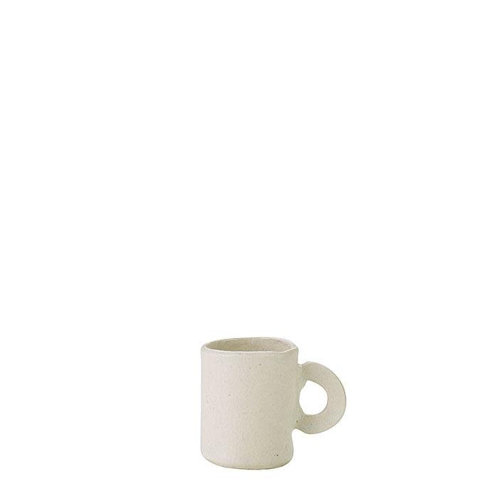 Tazza da caffe' cilindrica in gres d5 h7 cm