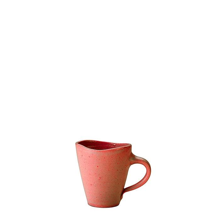 Tazza da caffe' in gres aragosta h8 cm