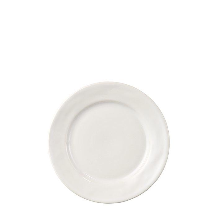 Assiette de dessert gres blanc d21 cm