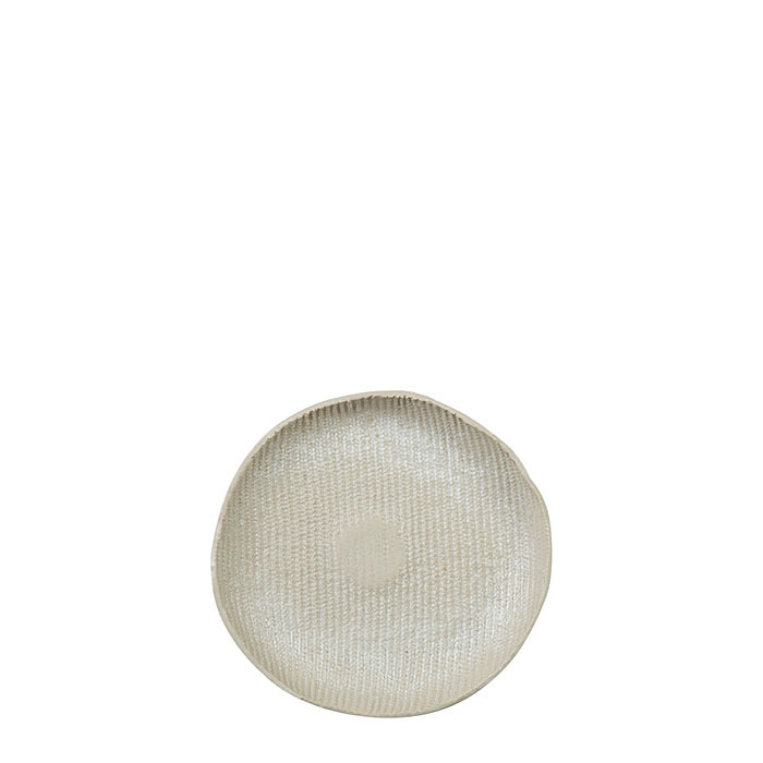 Piattino pane in gres texture d16 cm