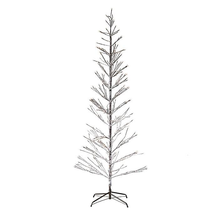 Sapin avec branches lumineux avec prise indique pour l'interieur et l'exterieur d110 h240 cm