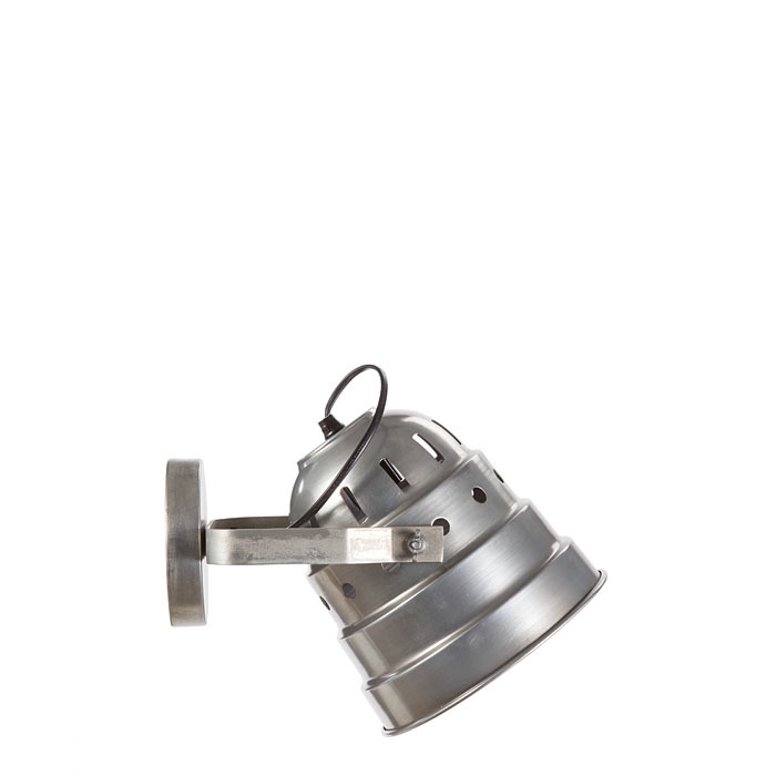 Lampe spot a mur en metal d28 cm
