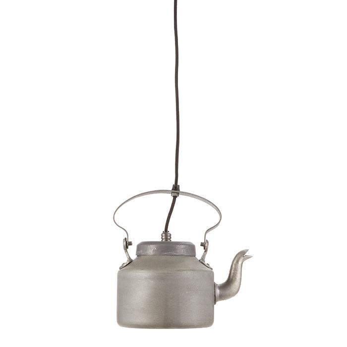 Lampada bollitore in metallo 18 x 26 h26 cm