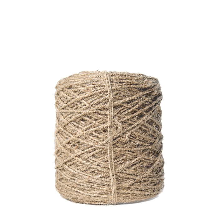 Jute natural cord skein 470m x 3.5mm