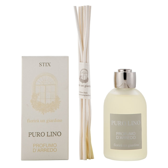 Perfume pure linen with stix 110 ml