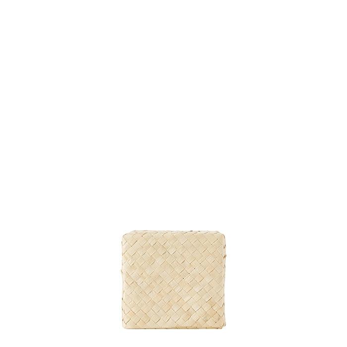 Woven cube box h12 cm
