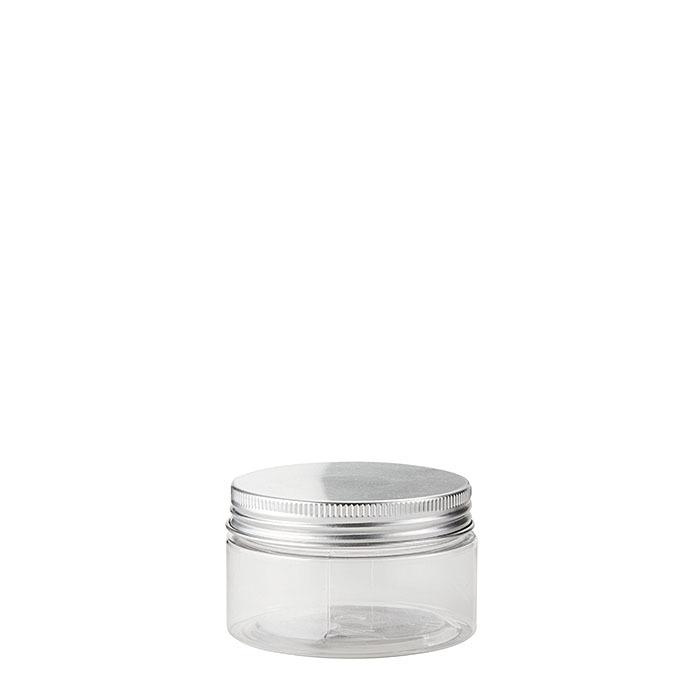 Confezione 12 barattoli pet trasparenti alimenti d7 h4 cm