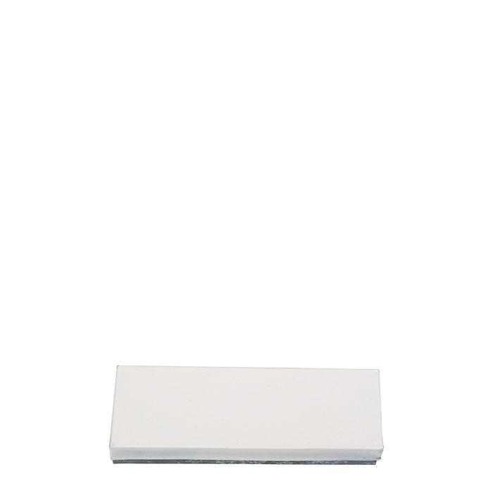 Scatola bianca in latta 23 x 7.5 h4 cm