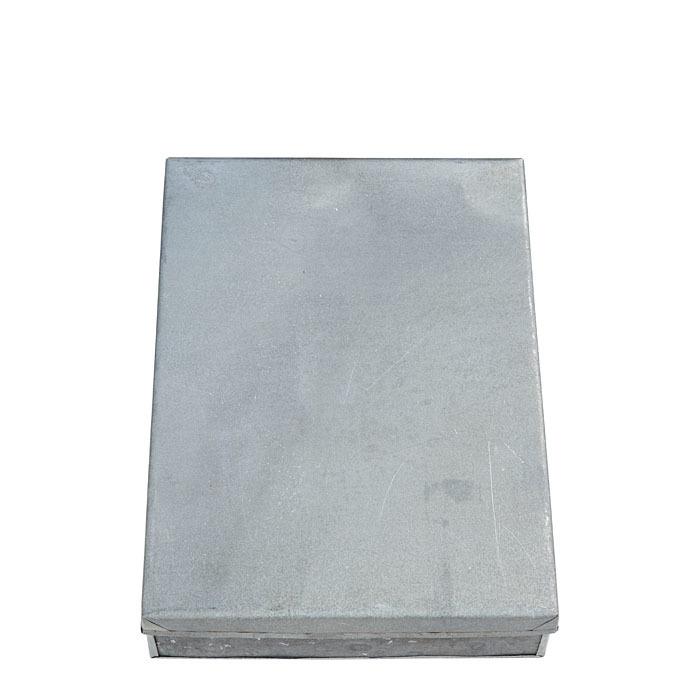 Scatola in latta formato a4 24 x 32 h7 cm