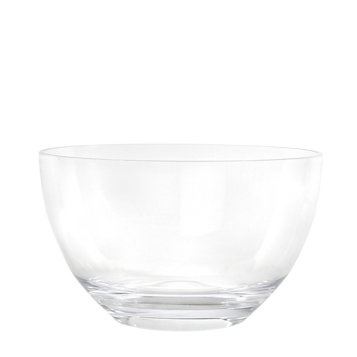 Saladier en methacrylate sans base d26 h15.3 cm