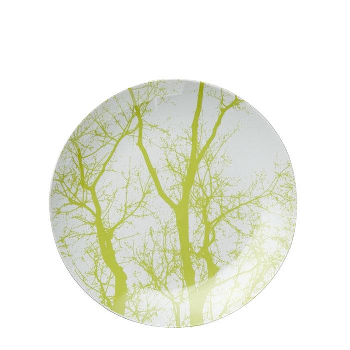 Piatto piano rami verdi d27 cm