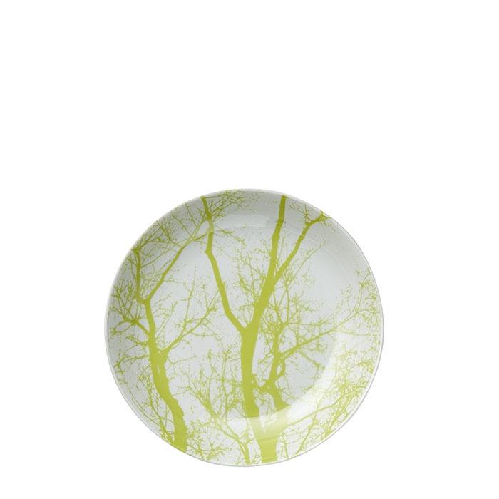 Piatto fondo rami verdi d21 cm