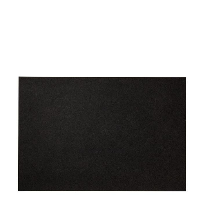Cellulose fiber placemat blackboard