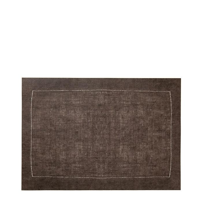 Tovaglietta in fibra di cellulosa marrone 31.5 x 47 cm