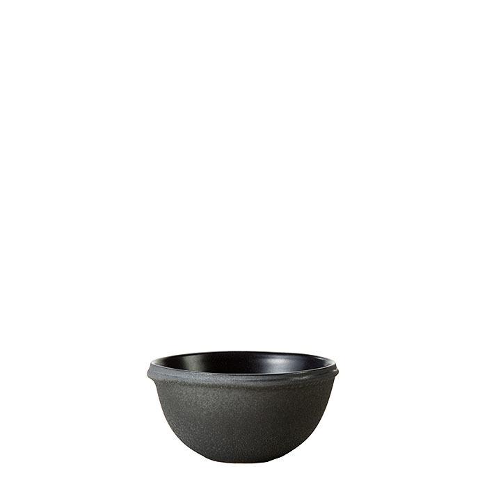 Ciotola in terracotta colore nero d10 cm
