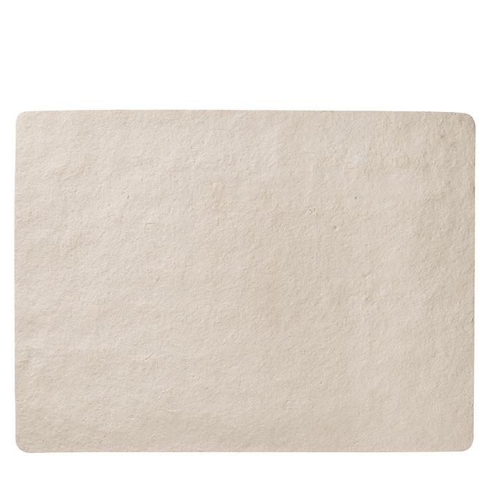 Maxi set americain en pierre artificielle claire 52 x 70 cm