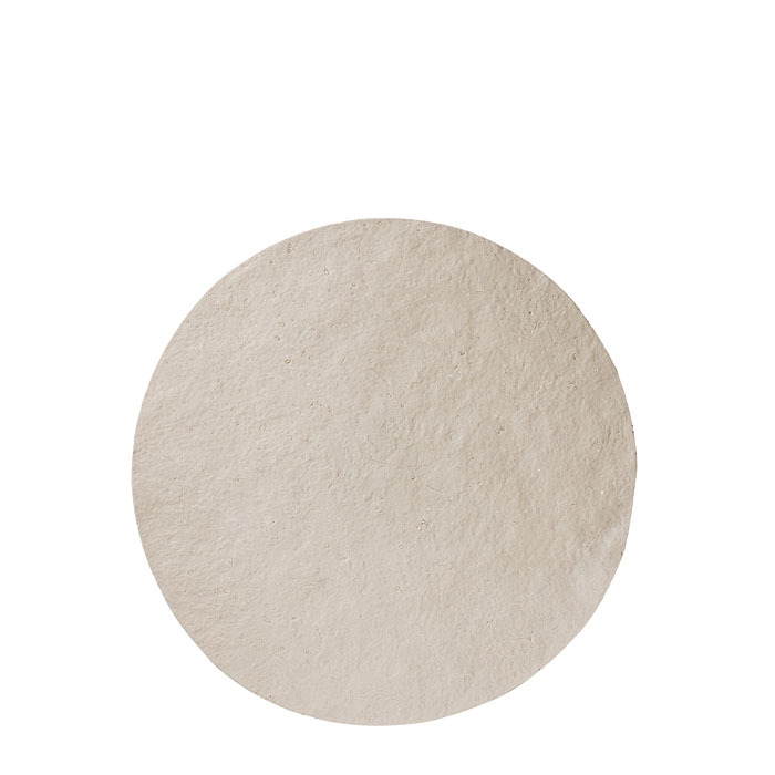 Vassoio in resina colore chiaro (3) d44 cm