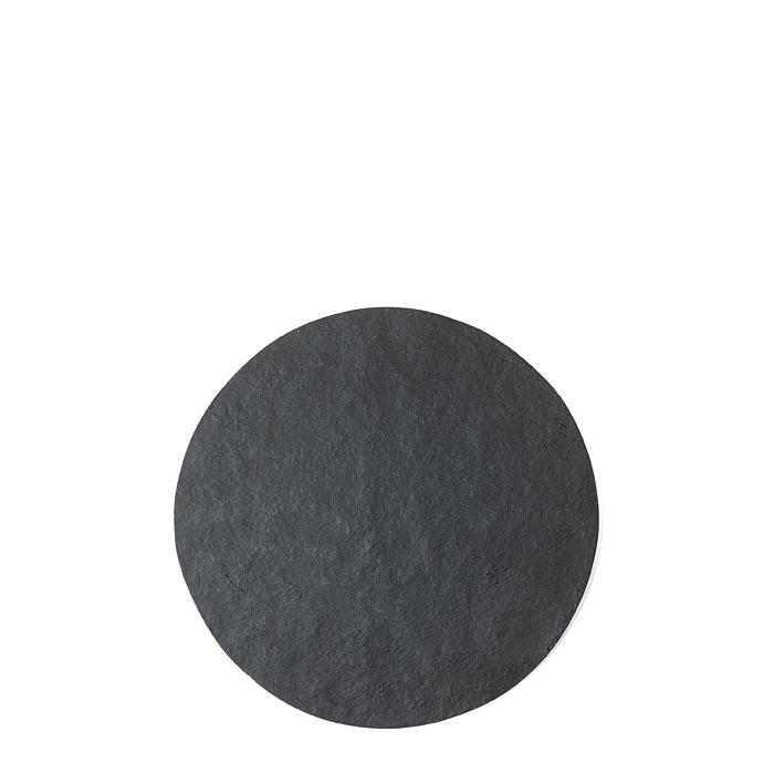 Vassoio sottopiatto in resina colore nero (2) d39 cm
