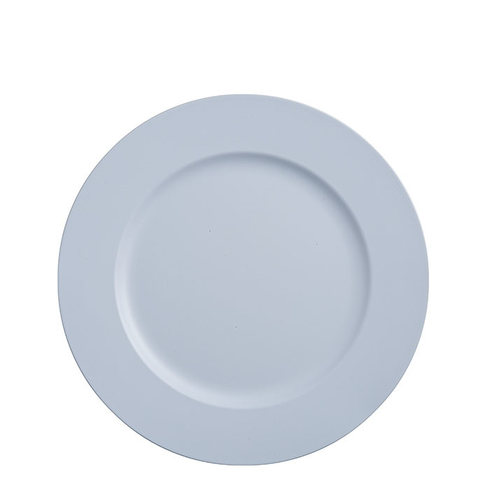 Sous-assiette en plastique couleur bleu d33 cm