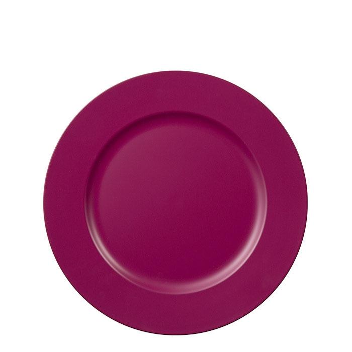 Plastic underplate cyclamen color d33 cm