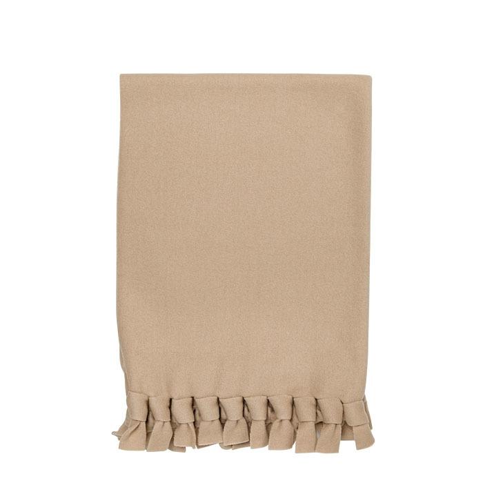 Knots linen pile baby blanket 70 x 118 cm