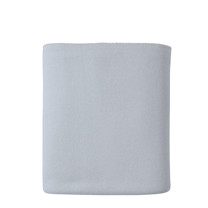 Couverture bleu ciel en polaire 130 x 170 cm