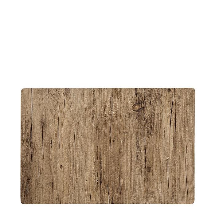 Pvc placemat bark model 30 x 45 cm
