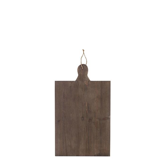 Tagliere decorativo legno marrone seconda scelta 30 x 50 cm