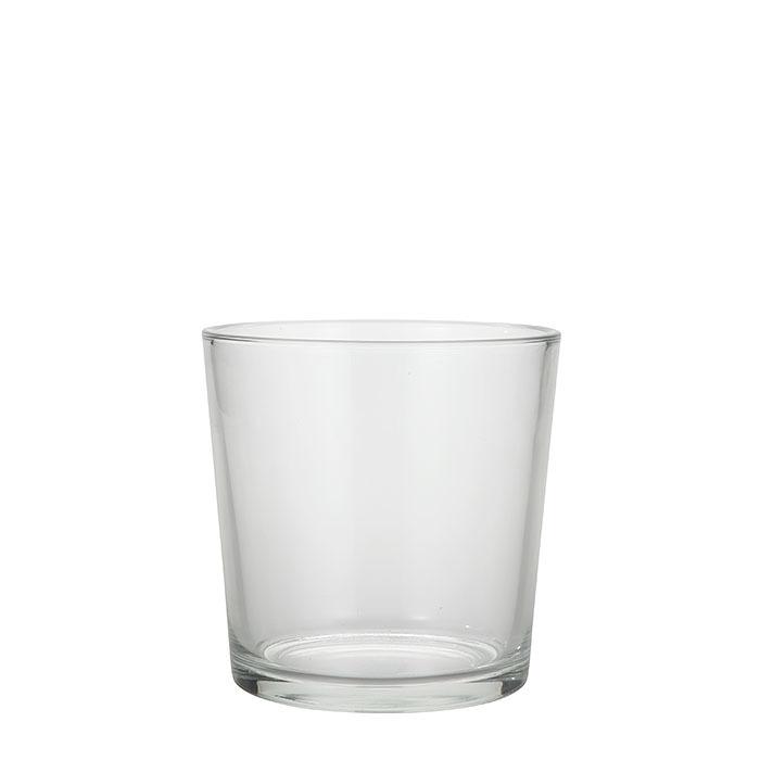 Vaso vetro conico (cnn) d17 h16 cm
