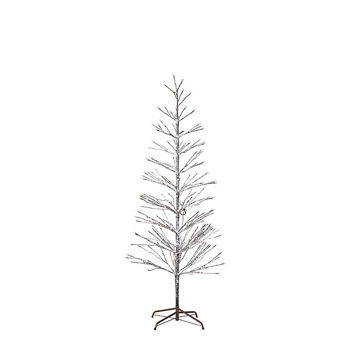 Iron tree with led lights and plug suitable for indoor/outdoor use d80 h180 cm