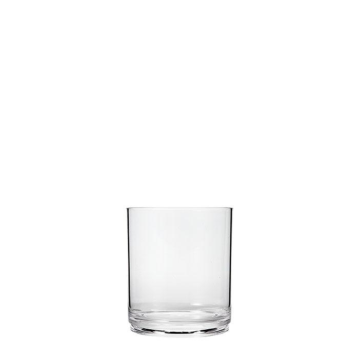 Bicchiere impilabile in metacrilato seconda scelta d8 h10 cm