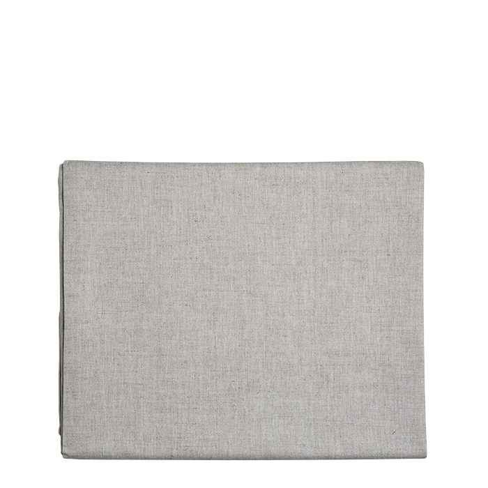 53% linen 47% cotton undertablecloth natural colour 150 x 258 cm