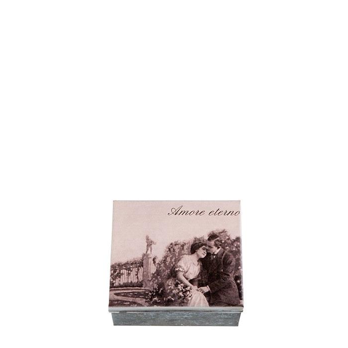 Box amore eterno 13 x 15 h7.5 cm