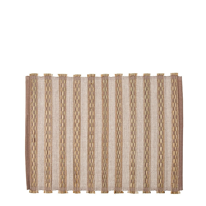 Placemat wisteria color grass blades 34 x 45 cm