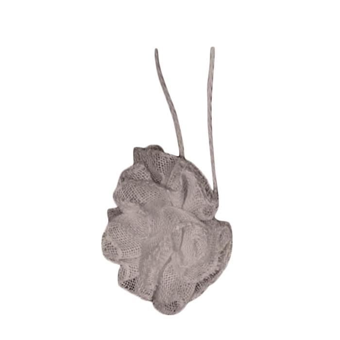 Fleur 100% lin filet avec cordon couleur lin d8 cm