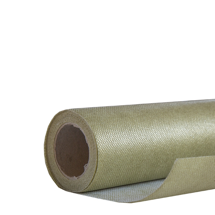 Gold plated non-woven roll 5m x 80cm