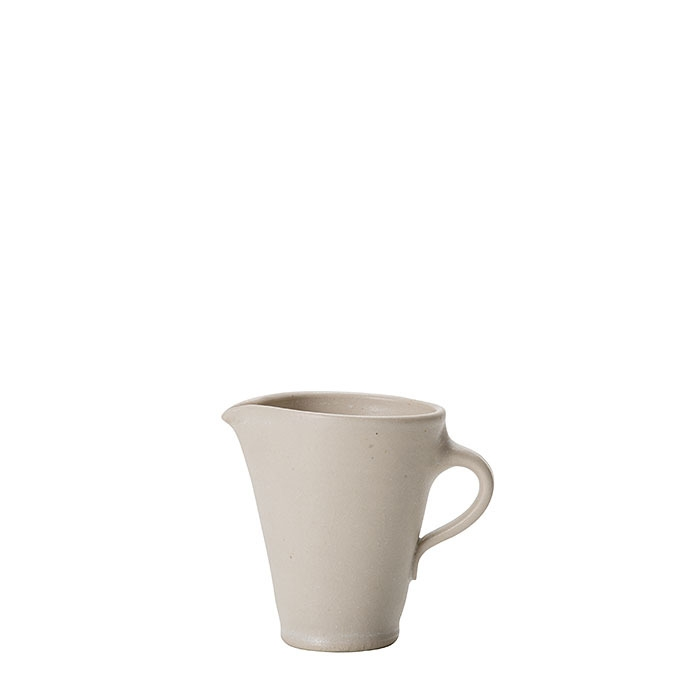 Bricco latte in gres h8 cm