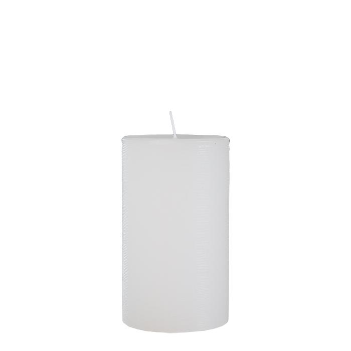 Paquet de 2 bougies auto-extinguibles blanches d8 h20 cm