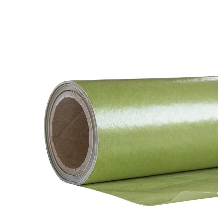 Green paper roll 50m x 75cm