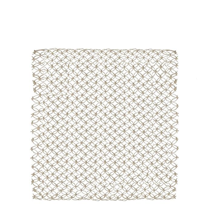 Cream macrame underplate 35 cm