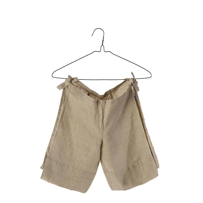100% linen baby wraparound trousers